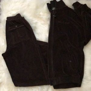 Rocawear Brown Jumpsuit Set